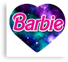 BARBIE universe Canvas Print