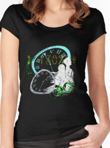 Steins;gate Women's Fitted Scoop T-Shirt