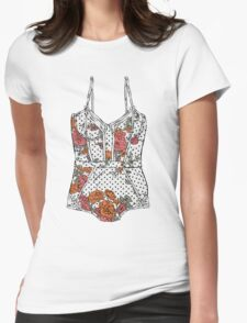 Lingerie-2 Womens Fitted T-Shirt