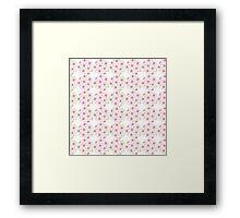 Beautiful flower pattern Framed Print