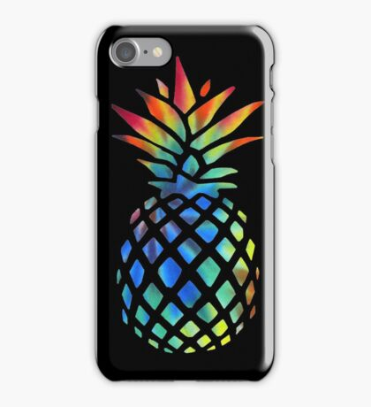 Hippy Pineapple - ONE:Print iPhone Case/Skin