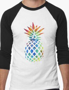 Hippy Pineapple - ONE:Print Men's Baseball ¾ T-Shirt