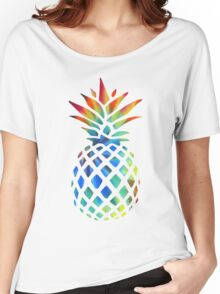Hippy Pineapple - ONE:Print Women's Relaxed Fit T-Shirt
