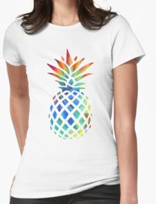 Hippy Pineapple - ONE:Print Womens Fitted T-Shirt