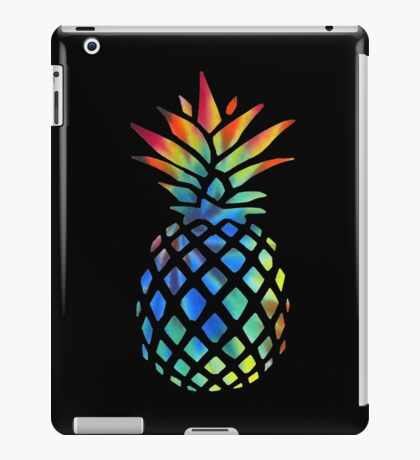Hippy Pineapple - ONE:Print iPad Case/Skin