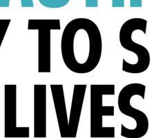 Grey's Anatomy - Slogan Sticker