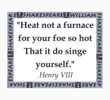 Heat Not a Furnace - Shakespeare Kids Tee