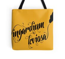 Wingardium leviosa - Harry Potter spells Tote Bag