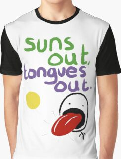 Sun's out, Tongues out Graphic T-Shirt