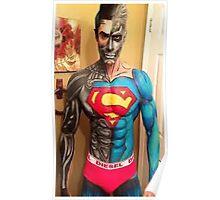 SUPER  MAN - DIESEL Poster