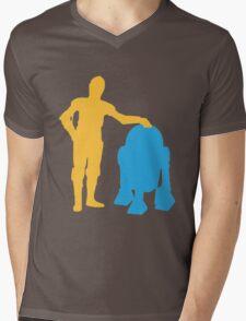 True Buds Mens V-Neck T-Shirt