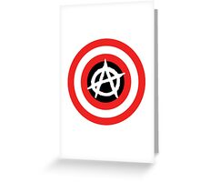 Captain Anarchy! Greeting Card