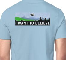 X-Files 'I Want to Believe' T-shirt Unisex T-Shirt