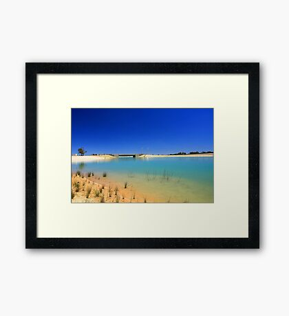 Champion Lake  Framed Print