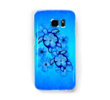 Blue Hawaiian Honu Turtles Samsung Galaxy Case/Skin
