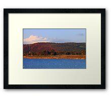 Champion Lakes Foothills - Western Australia  Framed Print