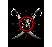 Pirate Compass Photographic Print