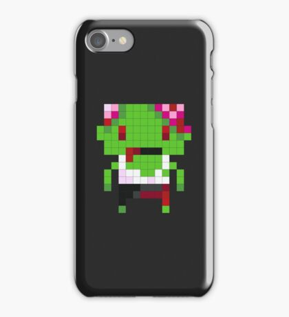 Pixel Art Zombie iPhone Case/Skin