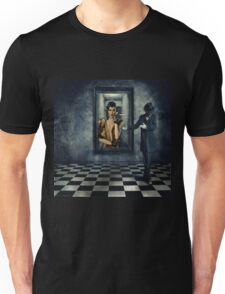 The queen of hearts digital illustrations Unisex T-Shirt
