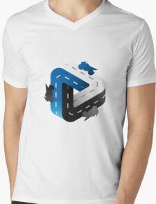 Bike forever /Marek/ Mens V-Neck T-Shirt