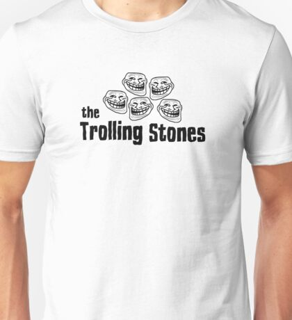 The Rolling Stones Troll Rock Music Funny T-Shirts  Unisex T-Shirt