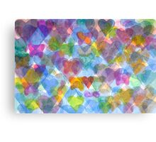 Having Butterflies in one's Stomach  Canvas Print