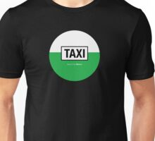 Taxi-Mexico City Unisex T-Shirt