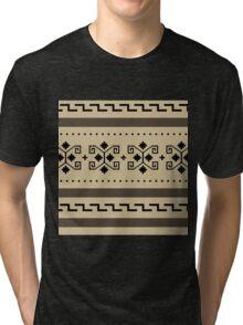 Big Lebowski Cardigan Texture Tri-blend T-Shirt
