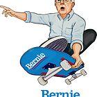 Bernie Sanders - Skate Board by ageage