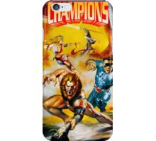 Eternal Champions repro poster iPhone Case/Skin