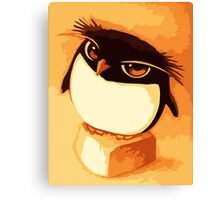 Funny Penguin Canvas Print