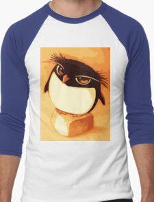 Funny Penguin Men's Baseball ¾ T-Shirt