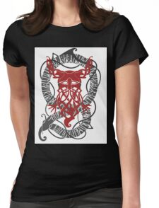 Red Konung Womens Fitted T-Shirt
