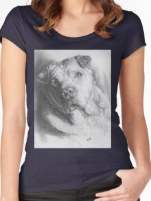 Max, RIP My Friend Women's Fitted Scoop T-Shirt