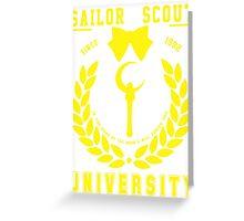 Sailor Scout University: Sailor Moon (Alternate 2) Greeting Card