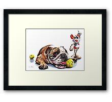Boy's Toys Framed Print