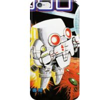 Atomic Robo-Kid repro poster iPhone Case/Skin