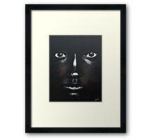 I AM WATCHING Framed Print
