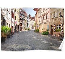 Nuremberg old town Poster