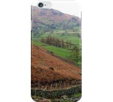 Langdale, the Lake District, UK iPhone Case/Skin
