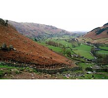 Langdale, the Lake District, UK Photographic Print