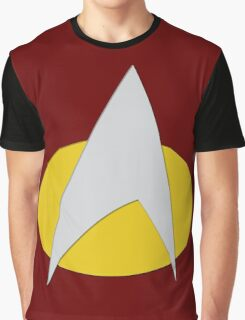 Star Trek: The Next Generation Badge Graphic T-Shirt