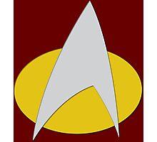 Star Trek: The Next Generation Badge Photographic Print