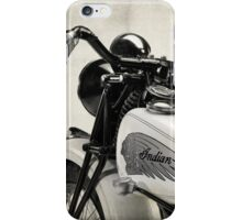 The Vintage Indian iPhone Case/Skin