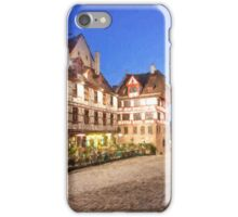 Nuremberg evening iPhone Case/Skin