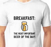 Breakfast Beer Unisex T-Shirt