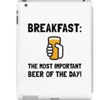 Breakfast Beer iPad Case/Skin
