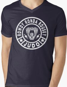 Rowdy Judo Mens V-Neck T-Shirt