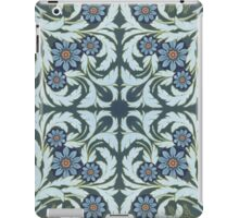 Mosaic flowers pattern iPad Case/Skin
