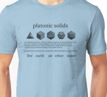 Platonic Solids Unisex T-Shirt